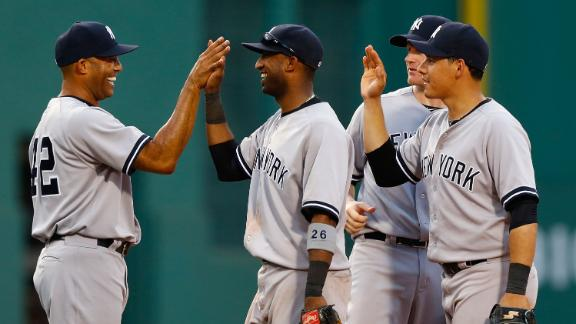 Kuroda sharp as Yankees control Red Sox