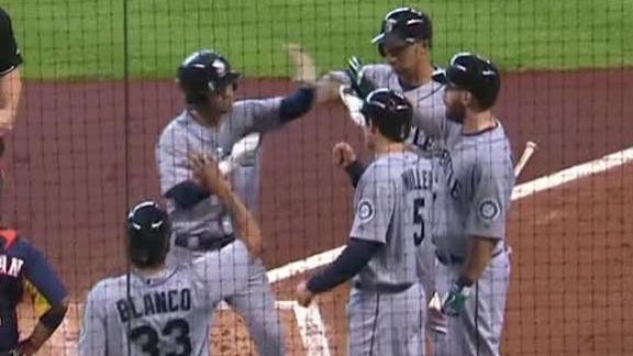 Video - M's Pile It On Astros