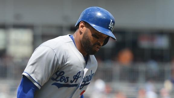 Kemp homers as Dodgers sweep Nationals
