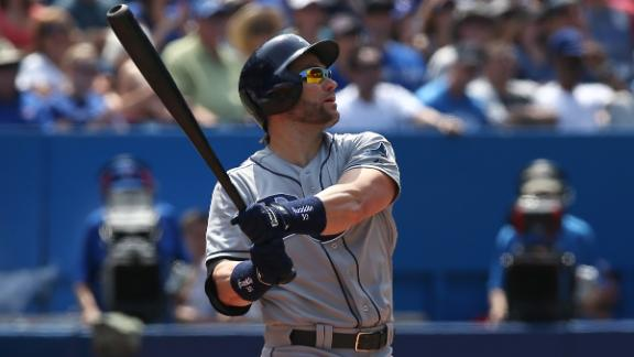 Back-to-back HRs help Rays survive Jays