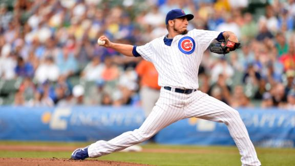Rangers acquire Garza in deal with Cubs