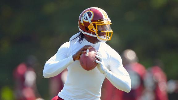 "Report: ""Major surprise"" if RG3 plays in preseason"