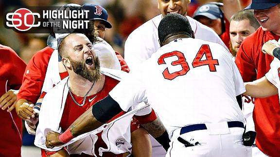 Video - Napoli, Red Sox Walk Off In 11th
