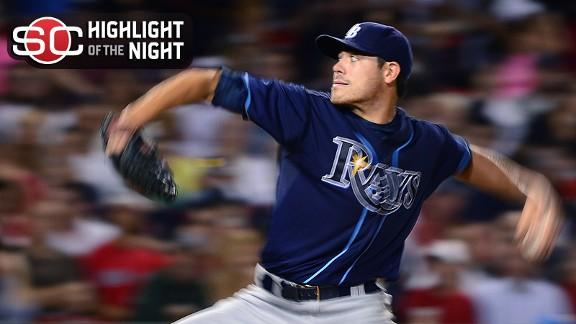 Video - Rays Roll Red Sox