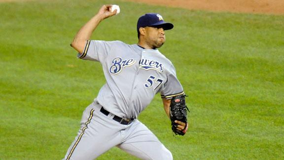 Brewers trade K-Rod to Baltimore for prospect