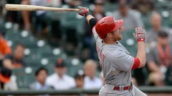 Video - Reds Power Past Giants In Game 1
