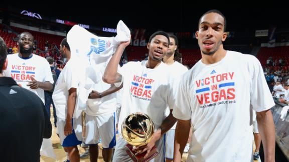Clark's 33 help Warriors claim title in Vegas