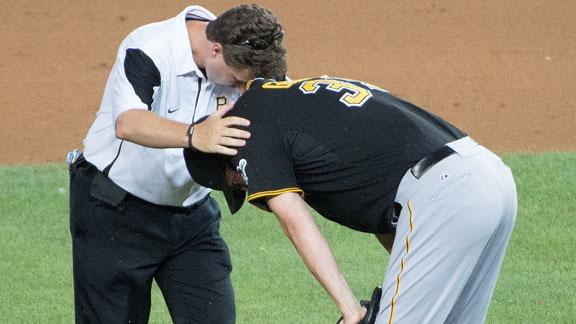 Pirates put NL saves leader Grilli on 15-day DL