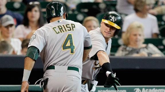 Video - Crisp Lifts A's Past Astros