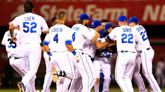 Video - Royals Walk Off With Win