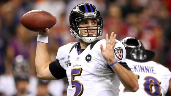 Flacco feeling no pressure after SB triumph