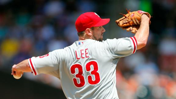Sources: Phillies getting late offers for Lee