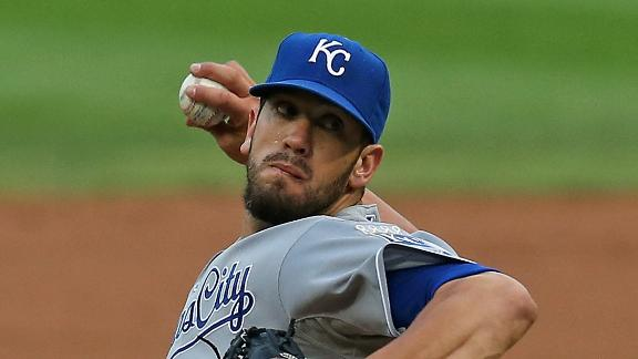 Video - Shields, Royals Win Fourth Straight