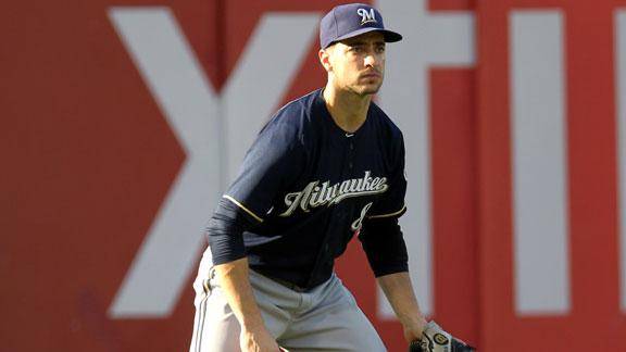 Brewers' Braun says he will speak when able to