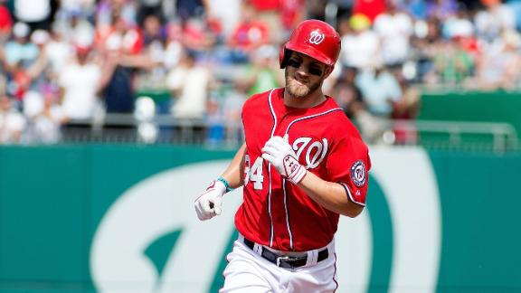 Video - Harper, Nats Homer Past Nationals