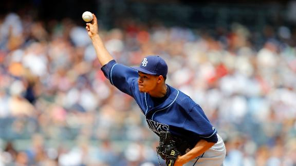 Archer shines with 2-hitter as Rays blank Yanks