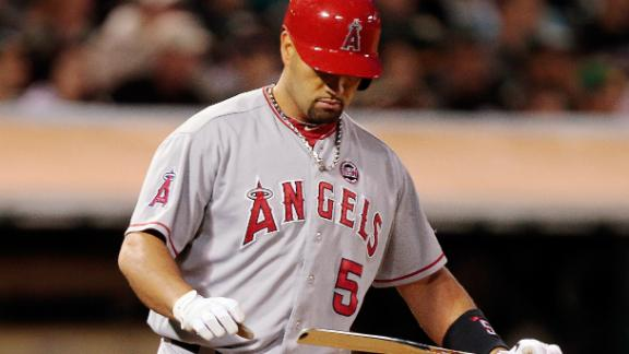Pujols put on DL, will miss significant time