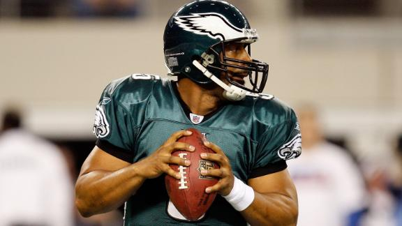 Eagles to retire McNabb's No. 5 on Sept. 19