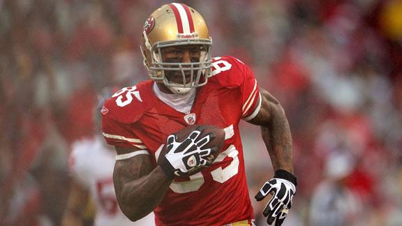 TE Davis ready to fill void at WR for 49ers