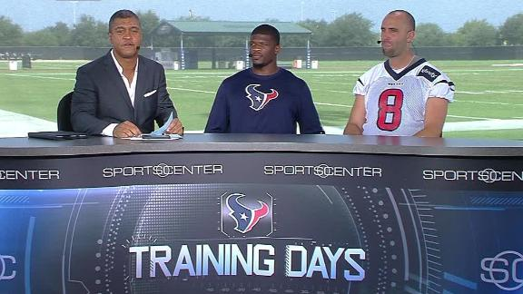 Texans report: New leg padding makes debut