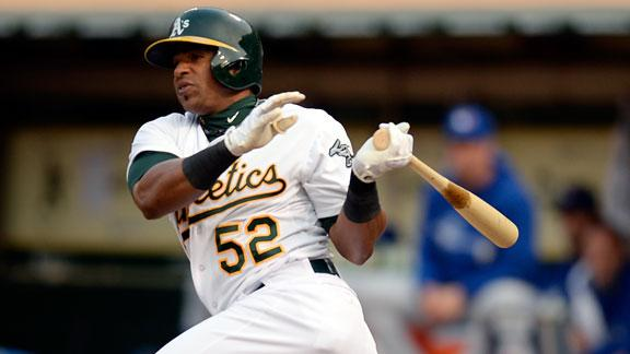 Video - A's Cruise Past Blue Jays