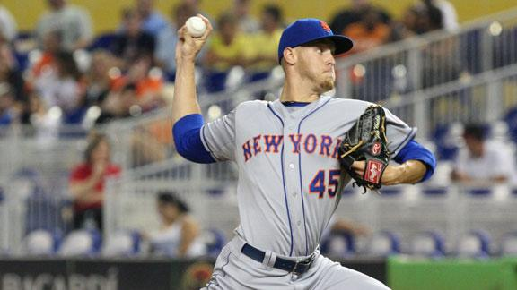 Wheeler takes no-no to 7th; Mets win in 10