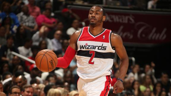 Report: Wizards ink Wall to $80M extension