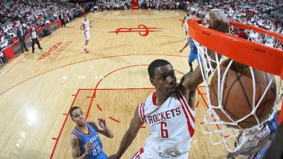 Rockets' Jones accused of homeless man stomp