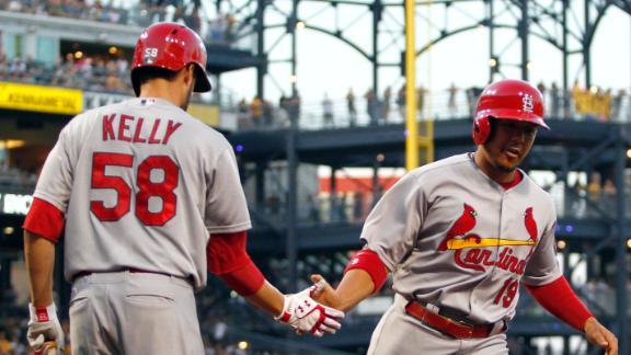 Video - Cardinals End Seven-Game Slide