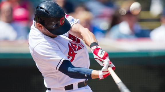 Video - Raburn Leads Indians To 8th Straight Win