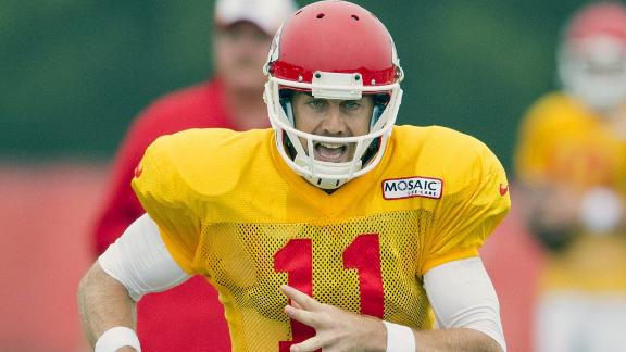Chiefs' OC says Alex Smith is NFL's best QB
