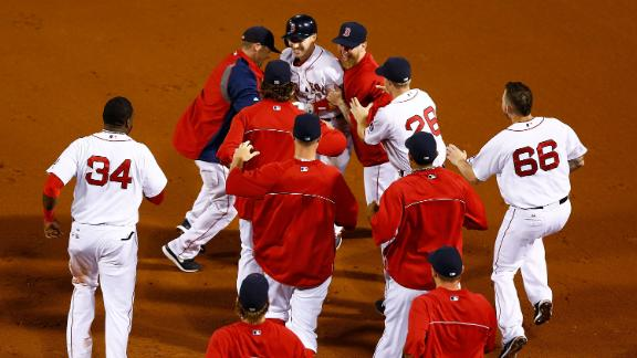 Video - Red Sox Walk Off In 15