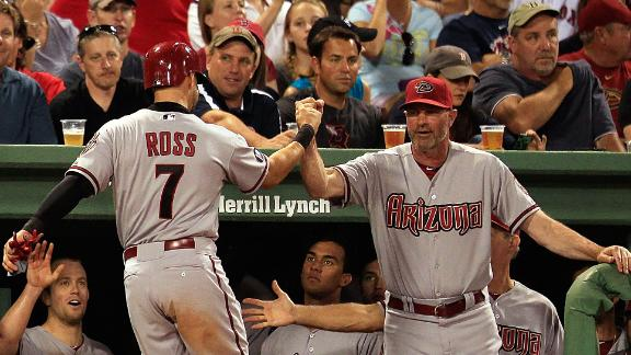 Ross' home run lifts D-backs past Red Sox