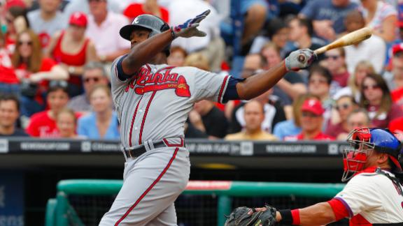 Braves win 9th straight as bullpen stymies Phils
