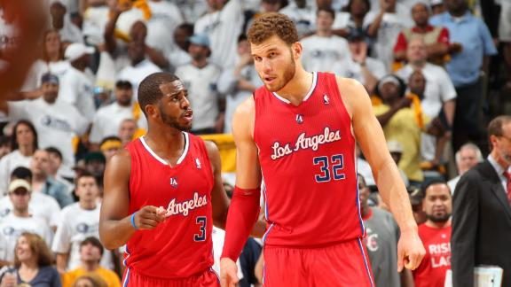 Paul says Clippers will 'go as Blake goes'