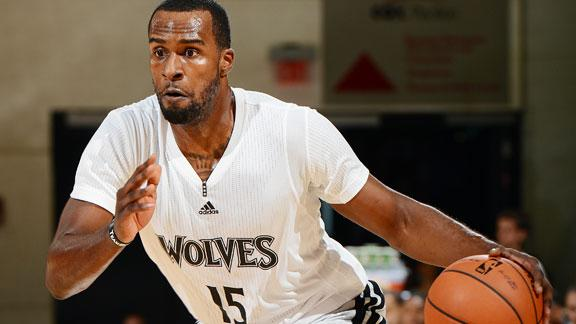 Wolves' Muhammad booted from NBA camp