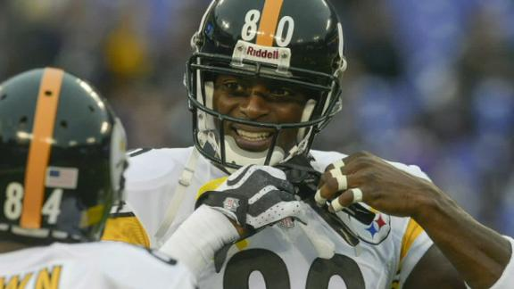 Video - Plaxico Burress Tears Rotator Cuff