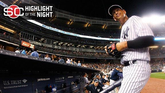 Video - Yankees Win In A-Rod's Return Home