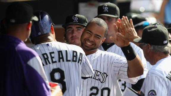 Rockies edge Pirates, sweep Central leaders
