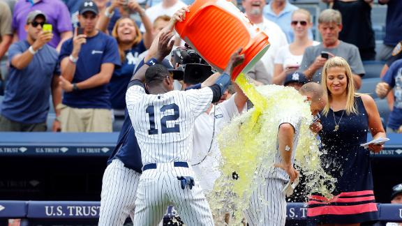 Rivera blows save but Gardner rescues Yanks