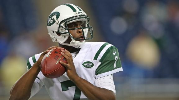 Jets QB Smith practices despite sore ankle