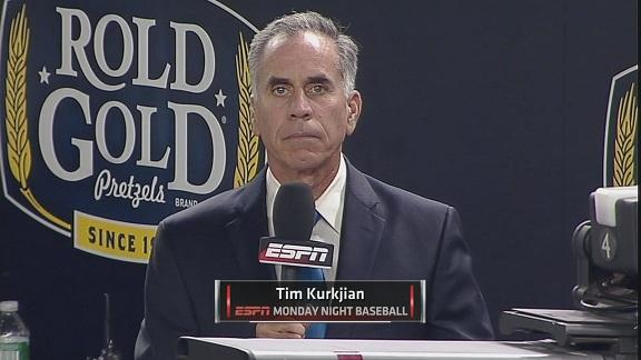 Video - Tim Kurkjian answers Fan Tweets Between Innings