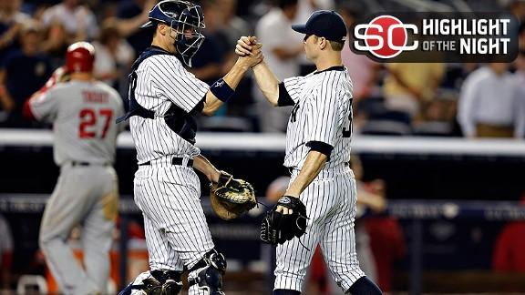 Video - Yankees Hold Off Angels