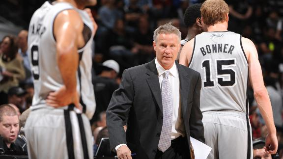 76ers officially hire Spurs' Brown as coach