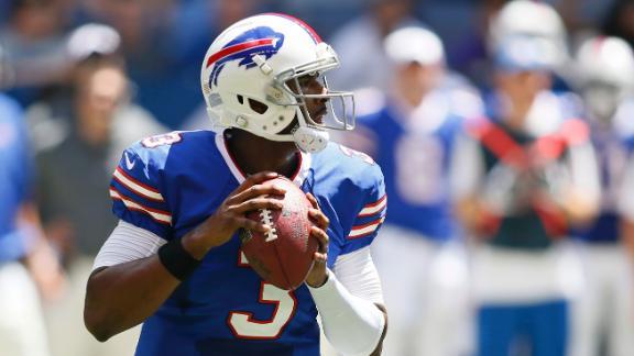 Bills QB Kolb returns, but limited in practice