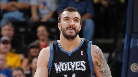 Nikola Pekovic agrees on new deal with Minnesota Timberwolves -…