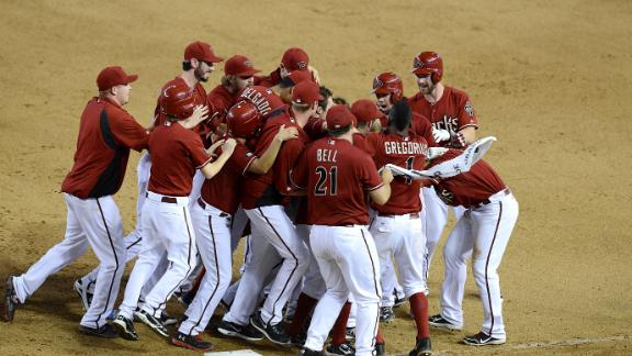 D-backs get 3rd straight walk-off win vs. O's