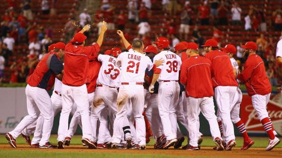 Video - Cardinals Walk Off With Win