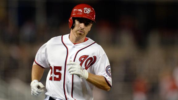 LaRoche, Nats top Giants for 4th straight win