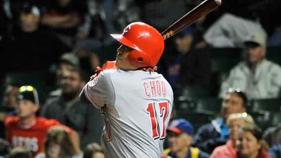 Choo plates 2 in 11th as Reds outlast Cubs